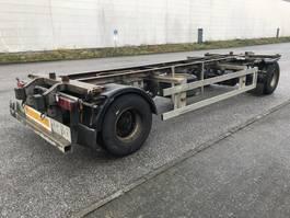 swap body trailer semi trailer Ackermann 2 Achs Lafette EAF 18-7,4 105 TE verzinkt, 2 x vorhanden 2009
