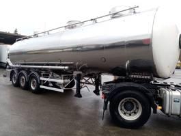 tank semi trailer semi trailer Magyar OPLEGGER VOOR LEVENSMIDDELEN 31000 L - 3 COMP. - CHASSIS IN INOX 2005