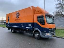 camión de caja cerrada DAF 45.160 lf 11.990 kg !!! 2010
