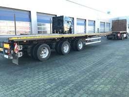 flatbed semi trailer Nooteboom OVB-48-03V, Extandeble: 21.65 Mtr, ABS, 3 x Powersteered, Twist-Locks 2000