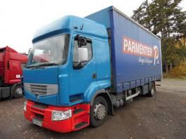 closed box truck > 7.5 t Renault 320 premium bak met huifzeil 2006