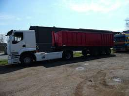 tipper trailer Fruehauf kipoplegger  3-asser