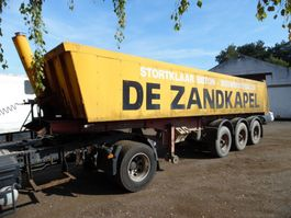 tipper semi trailer Van Hool kipper 3-asser 1992