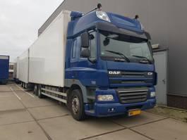 closed box truck DAF cf 85.410 2009