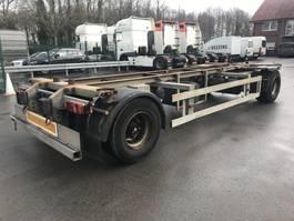 swap body trailer semi trailer Ackermann 2 Achs Lafette EAF 18-7,4 105 TE verzinkt 2009
