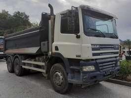 tipper truck DAF CF85 6x4 2006