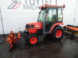 мини — компактный — садовый трактор Kubota ST30 compact mini tractor + cab lader 4X4 loader! 2005