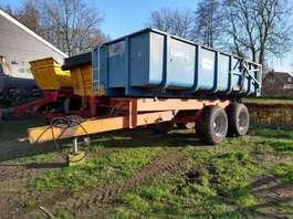 camião basculante com rodas Kaweco Kipper 12 ton met Silage opbouw