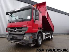 camião basculante > 7.5 t Mercedes Benz Actros 3341 6x4 - Full Spring - Hardox steel - Low Milage!! 2011
