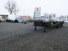 semi-remorque à châssis pour conteneur Kögel SW 24 40 Fuss Heckausschub 2011