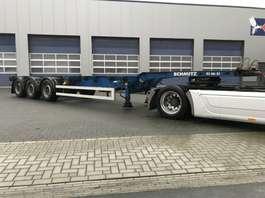 container chassis semi trailer Schmitz Cargobull SCF 24 G EURO multi, 45 Highcube 2007