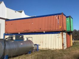 container di spedizione open top container zeecontainer 40 Ft High cube open top 2020