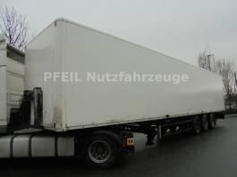 Kofferauflieger Kögel SN24 Koffer- Doppelstock- LIFT- Rolltor- SAF 2001