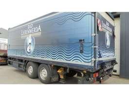 closed box trailer Orten 2-as daranken/getranke ahw met Laadklep/ 2004