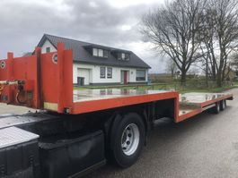 semi lowloader semi trailer Jumbo TO 120 Z 2008