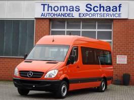 wheelchair transport lcv Mercedes Benz Sprinter 311 Cdi Maxi Flex-i-Trans 9 Sitze Klima Rollstuhllift Euro 4 2020