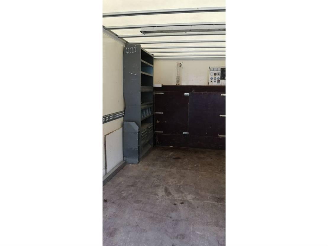 closed box truck > 7.5 t DAF LF 45 220PK AGGREGAAT INRICHTING COMPLEET 2008