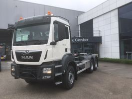 container truck MAN TGS 33.470 6x4 BL-M containerhaak wb 3900 2020