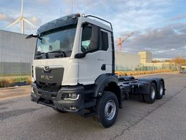 container truck MAN New Generation TGS 33.470 6x4 BL-NN containerhaak wb 3900 3x 2020