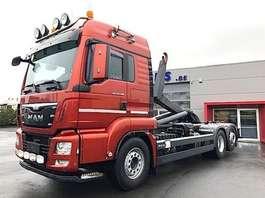 container truck MAN TGS 26.480LL-6X2/4 LIFTAS/STUURAS-CAMERA-NAVI-INTARDER-EUR6 2015