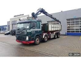 crane truck Volvo FM 13.480 Sleeper Cab, Euro 3, Hiab 288EP-5 HIPRO Crane 2004