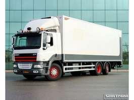 camión frigorífico DAF FAN CF85.360  EURO 5  9 TONS VOORAS  3 TONS KLEP  KOELING  TOP STAAT 2012