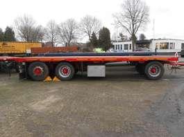 flatbed full trailer Viberte plateau 1999