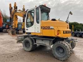 wheeled excavator Liebherr A 309 2011