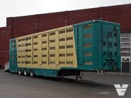 Viehauflieger Menke-Janzen 5 Stock Livestock trailer 2009
