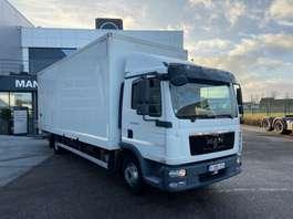 closed box truck MAN MAN TGL 12.220 4x2 BL 2012