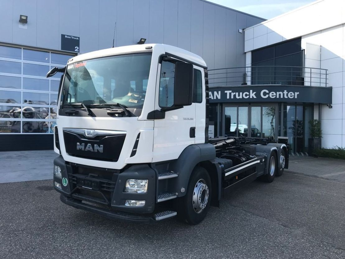 container truck MAN TGS 26.360 6x2-4 LL 2014