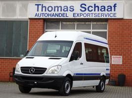 Minivan - Personenwagen Mercedes Benz Sprinter 313 Cdi L2H2 9 Sitze Klima Rollstuhllift Euro 5 2013