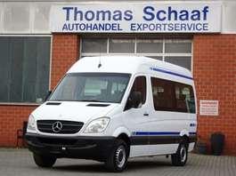 minivan - passenger coach car Mercedes Benz Sprinter 313 Cdi L2H2 9 Sitze Klima Rollstuhllift Euro 5 2013