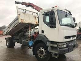 tipper truck Renault KERAX 260 **BENNE-GRUE-FRANCAIS** 2000