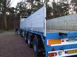 flatbed semi trailer Pacton kraanoplegger ook te huur 2000