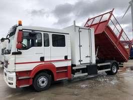 camion a cassone ribaltabile MAN TGL 12.220 BB Euro6-Doka 6 -Kipper-Koffer( TOP ) 2014