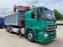 camion à benne basculante Mercedes Benz ACTROS 2548 6X2 - KIPPER TRUCK - EPSILON Q150L83 - RETARDER 2012