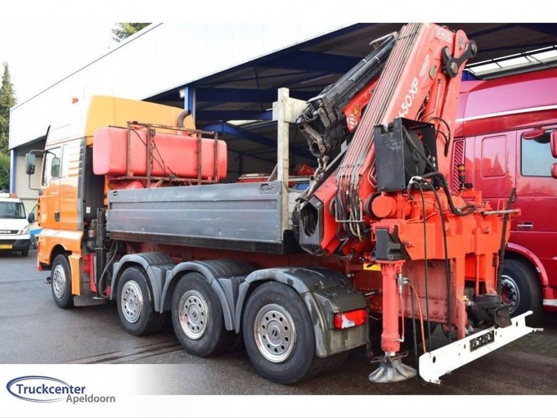 loader crane Fassi F 450 XP + JIB