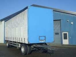 sliding curtain trailer Groenewegen DRA-10-10 2 As Schuifzeilen - Schuifdak hard houtenvloer 2004
