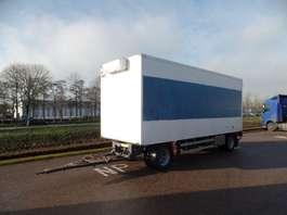closed box trailer Jumbo MV 200 2002