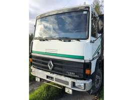 camion à plateforme Renault R340 - 6x2 - Full Steel 1989