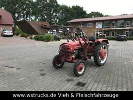 compact tractor Mc Cormick D 430. 4 Zylinder Frontlader 1962