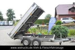 flatbed full trailer Hapert Rückwärtskipper Tüv NEU