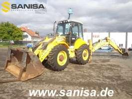 dredger New Holland LB115B/Baggerlader/4x4x4/9,5T/Schaufel+Gabel 2006
