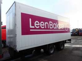 closed box trailer VAN HOLTEN Koffer, 49 m3, LBW, TUV/APK: 06/2020 2006