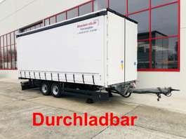 прицеп с наклонной платформой Möslein TPW 105 D Schwebheim  Tandem- Schiebeplanenanhänger zum Durchladen 2019