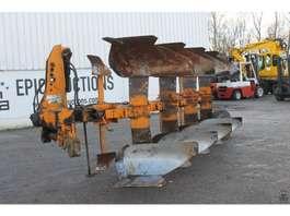 reversible plow Huard 4 schaar wentelploeg