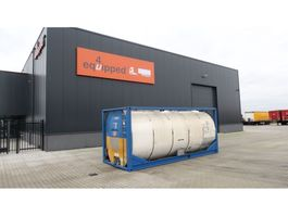 tank container Van Hool 25.000L TC, 2 comp. (12.500L/12.500L), IMO-1, T11, valid inspection: 03/... 1995