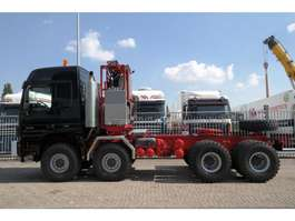 tracteur poids lourd Mercedes Benz ACTROS TITAN 4860 V8 8X8 350 TON'S WSK CONVERTOR HEAVY LOAD PUSH AND PUL... 2019
