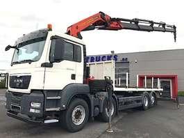 crane truck MAN TGS 35.360BL-8X2-EURO5-165153KM-PALFINGER PK42502!!-RADIOSTURING/ROTATOR 2011